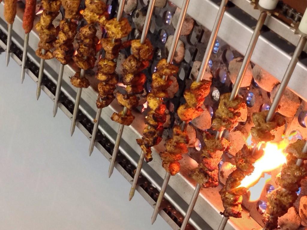Flame Grilled Skewers